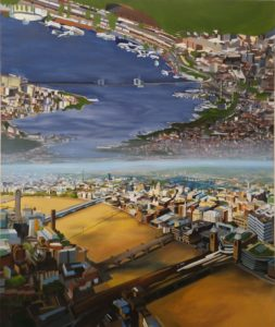 london-meets-istanbul_60-x-72_oil-on-canvas