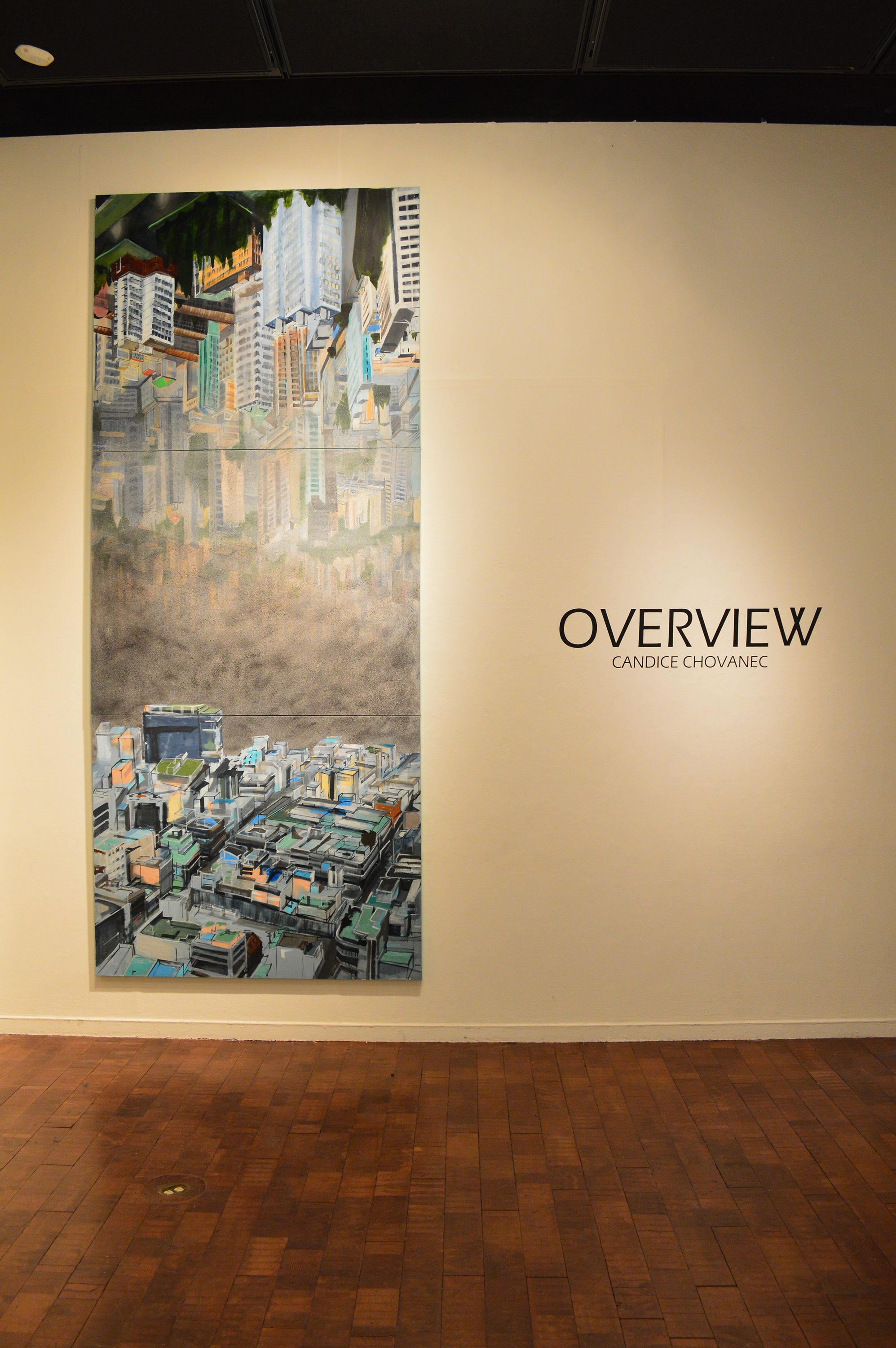Overview Installation – Candice Chovanec